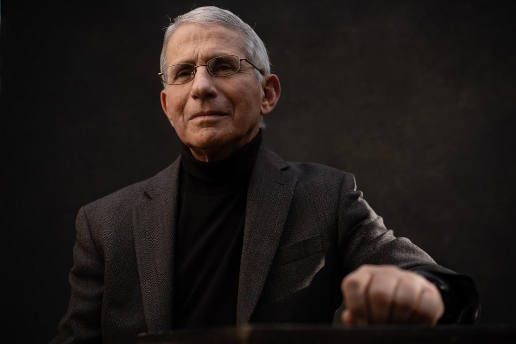 Dr. Anthony Fauci is director of the National Institute of Allergy and Infectious Diseases, and head of the U.S. pandemic response. (Photo for The Washington Post by Andre Chung)