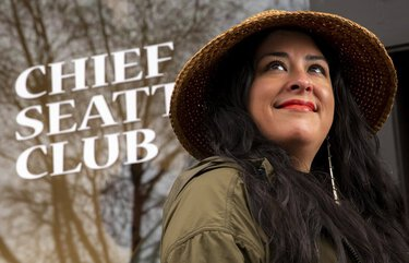 Colleen Echohawk is executive director of the Chief Seattle Club, a local nonprofit serving Indigenous people experiencing homelessness. Their Native Works program received $100,000 from the South King County Fund for Sovereignty Farms, a new apprenticeship program that pays people to farm an acre of land. Echohawk is an enrolled member of the Kithehaki Band of the Pawnee Nation and a member of the Upper Athabascan people of Mentasta Lake.    Friday January 8, 2021. 216075