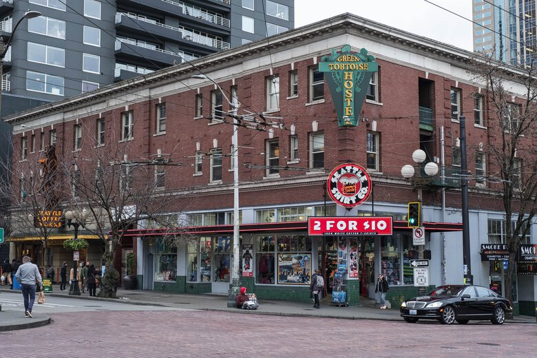 Preservationists have tried to protect the Hahn Building from demolition for years. (Dean Rutz / The Seattle Times)