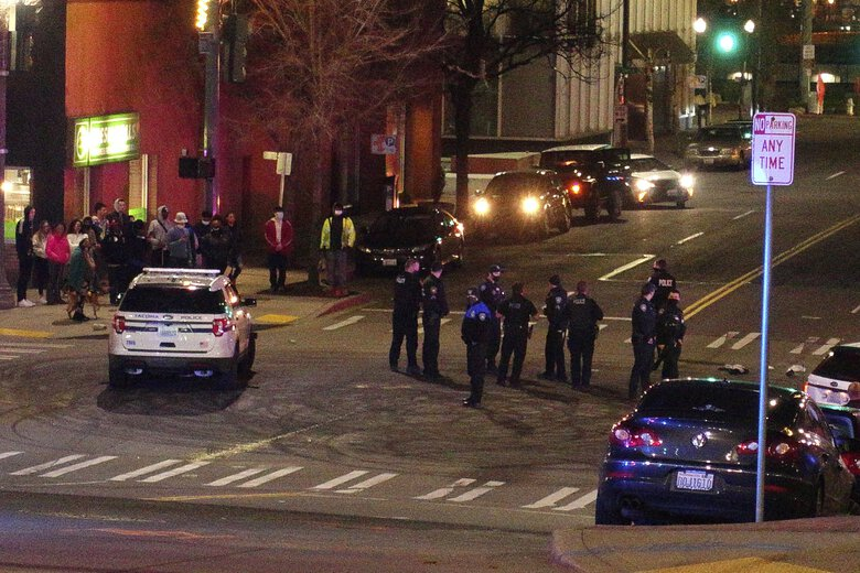 Tacoma Police Officer Seen Plowing Through Crowd With Squad Car