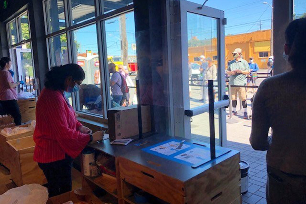 In the past seven months, Northwest Harvest has distributed nearly 800,000 emergency food boxes to families in need. (Courtesy of Northwest Harvest)