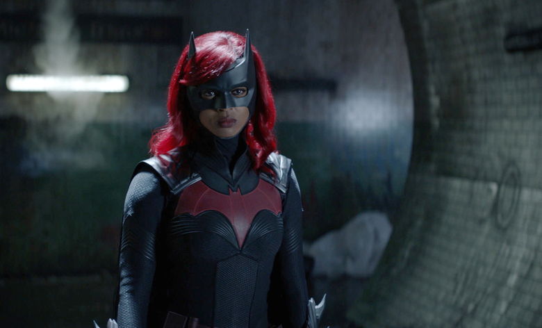 "This image provided by The CW shows Javicia Leslie in a scene from ""Batwoman."" (The CW via AP)"