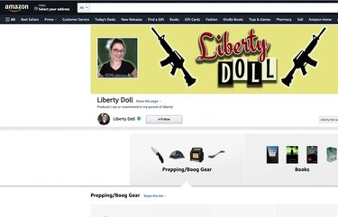 Liberty Doll Amazon site screen grab. On a little-known corner of Amazon's expansive online platforms, right-wing personalities espousing views similar to those held by many who breached the U.S. Capitol last month are using an Amazon affiliate marketing program to turn a buck on the back of their beliefs.