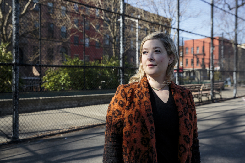 Arianna Eisenberg endured long-haul COVID-19 for eight months. But 36 hours after her second shot of coronavirus vaccine last month, her symptoms were gone and haven't returned. (Photo by Sarah Blesener for The Washington Post)