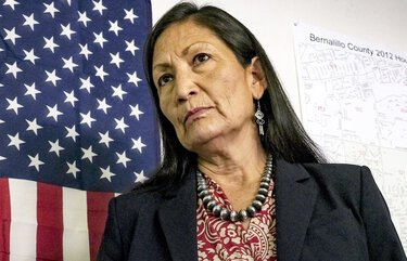 Rep. Deb Haaland, D-N.M., has been nominated to become the first Native American to serve as interior secretary.