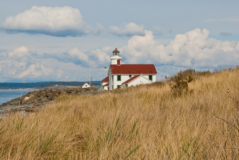Point Wilson Lighthouse at Fort Worden State Park near Port Townsend. (Getty Images)
