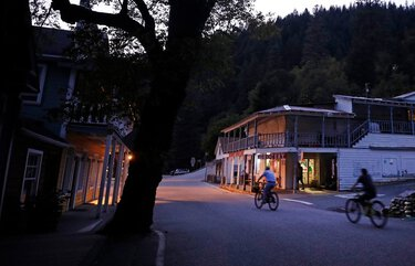 Debate is raging over Jim Crow Road in the small town of Downieville, Calif., pictured here in 2019. (Myung J. Chun/Los Angeles Times/TNS) 17803289W 17803289W