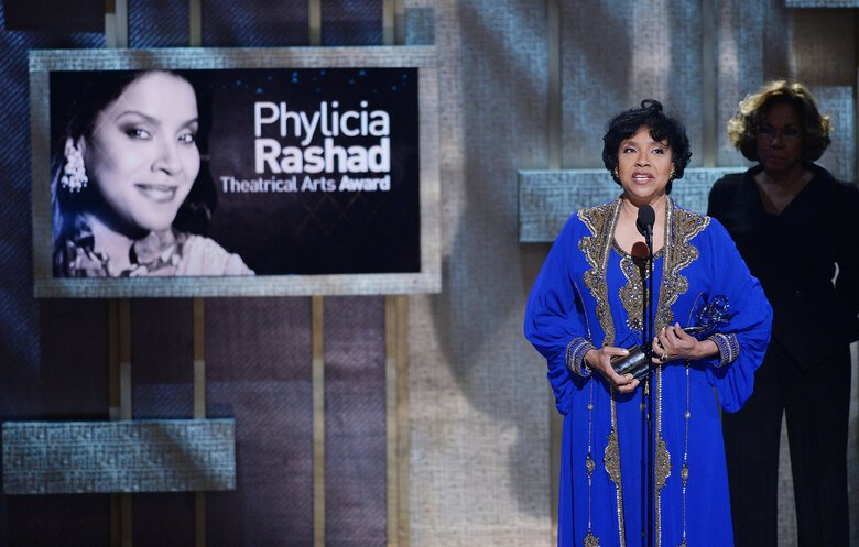 Phylicia Rashad speaks at the BET Honors in Washington, D.C., in 2015. (Olivier Douliery / TNS)