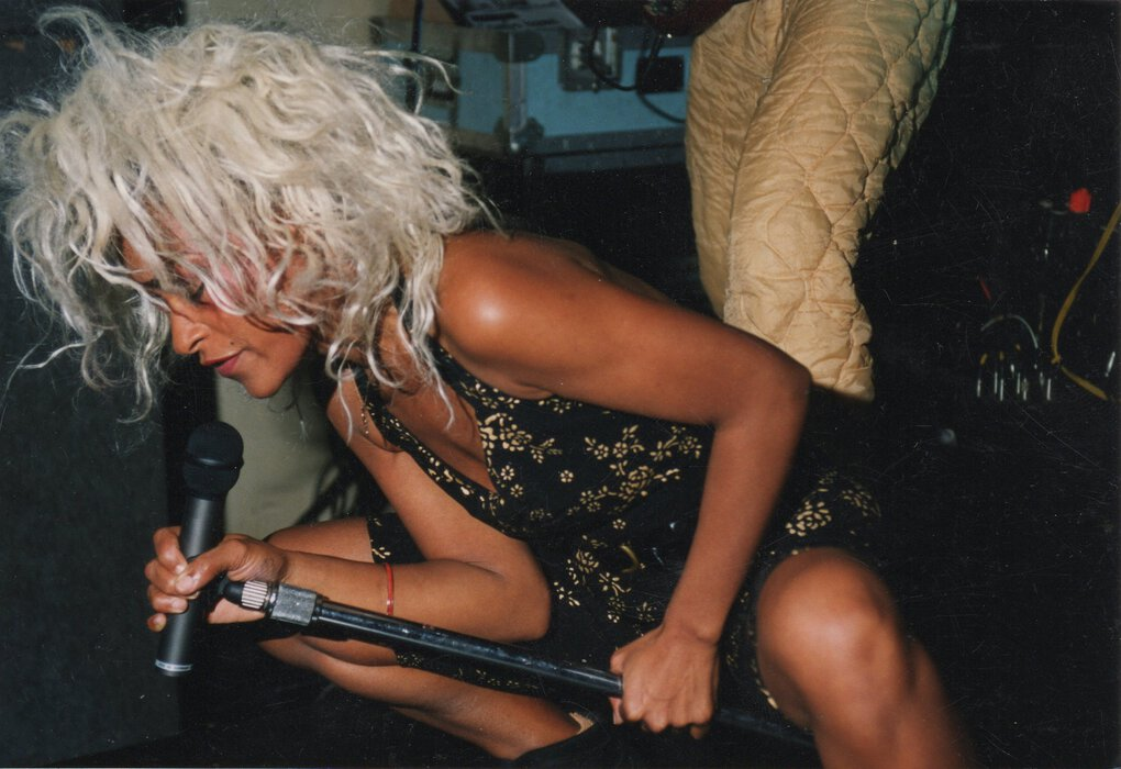 Tina Bell, singer of Seattle band Bam Bam, is credited as a founder of the grunge genre. (Cyndia Lavik)