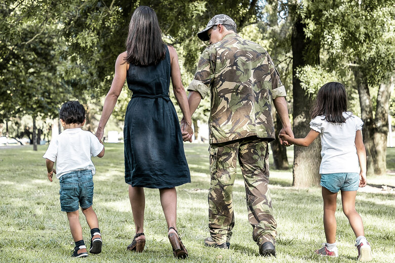 Even before the pandemic, the unemployment rate of military spouses was estimated to be between three and six times the national rate. (Getty Images)