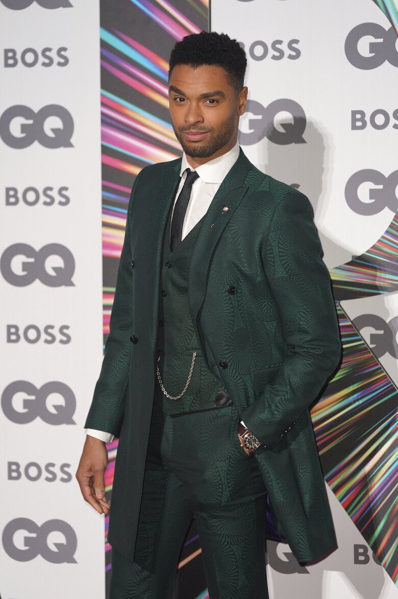 Regé-Jean Page attends the GQ Men of the Year Awards at the Tate Modern in London on Sept. 1. (Scott Garfitt / The Associated Press)