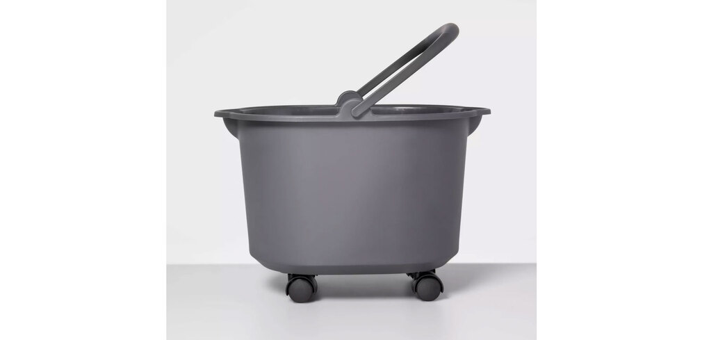 Made By Design's Rolling Bucket has wheels that make it easy to move about. (Courtesy of target.com)
